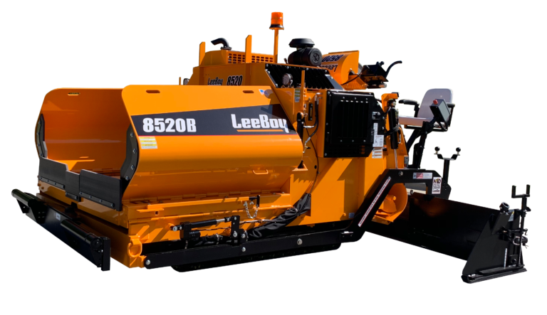 The 8520B was designed for YOU – the Commercial Paving Contractor!